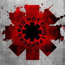 Medium red hot chili peppers logo
